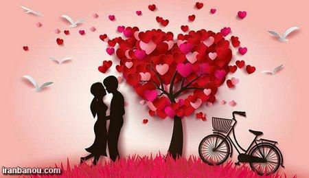 عکسهای عاشقانه بوسیدن,عکس عاشقانه بوسه