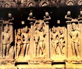 Pallava Court Scene at Mahabalipuram, 7th century AD