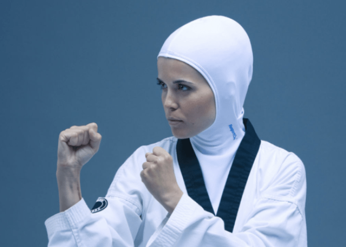 Muslim women sports in Hijab