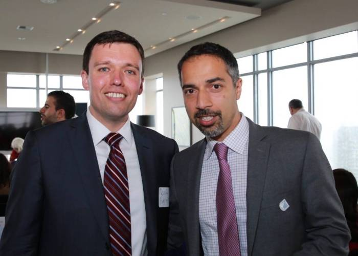 Washington State Solicitor Noah Purcell and Trita Parsi