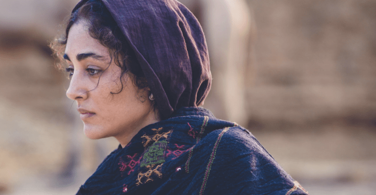 """""""The Song of Scorpions,"""" starring Indian actor Irrfan Khan and Iranian actress Golshifteh Farahani"""