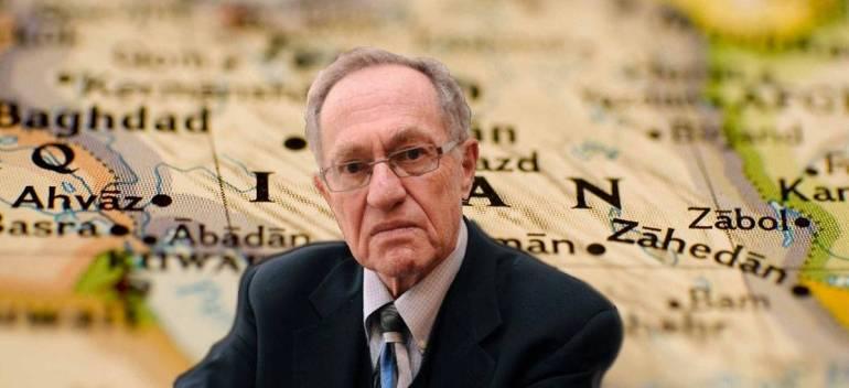 Alan Dershowitz Iran Hawk