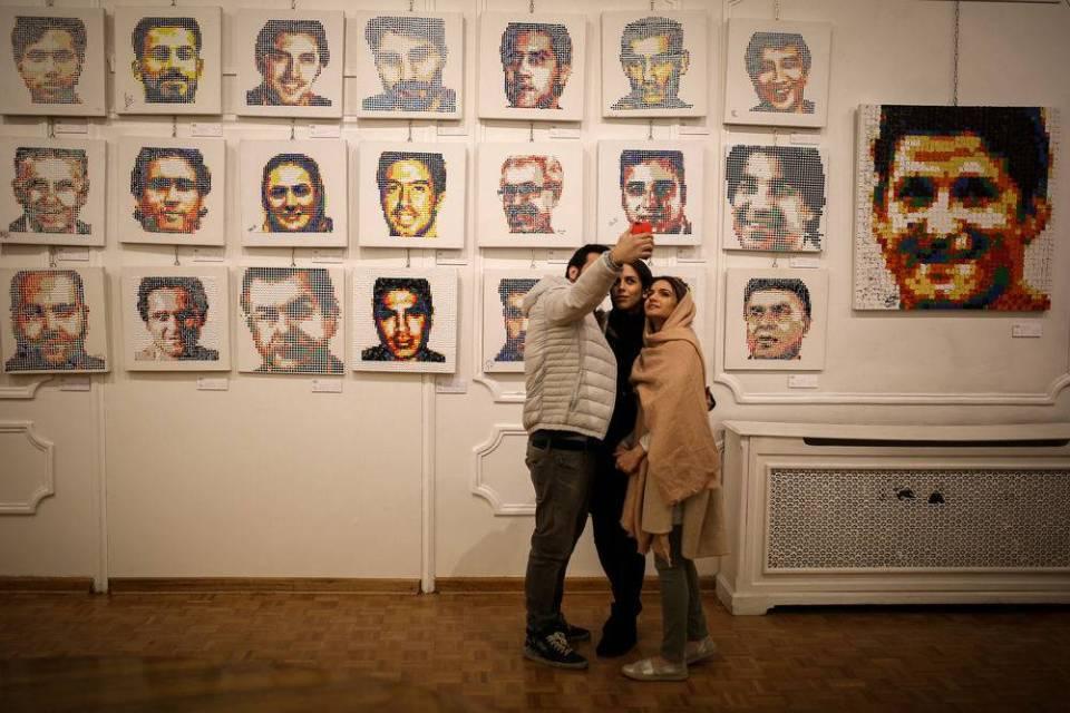 Iran art gallery