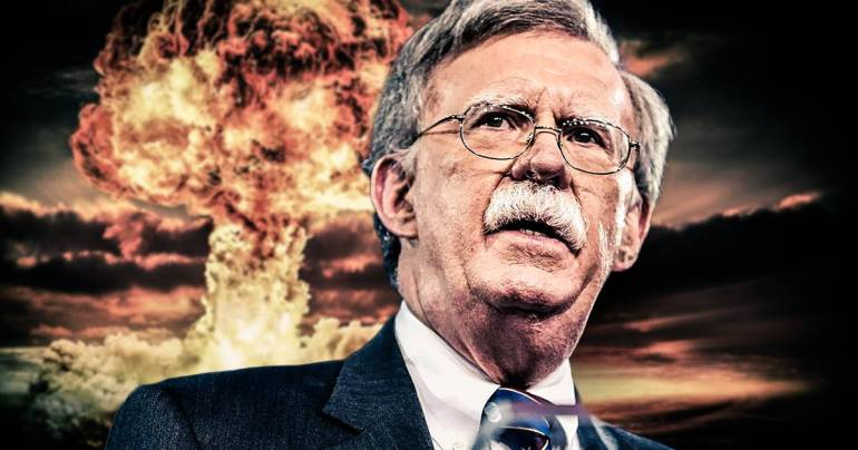 John Bolton war with Iran