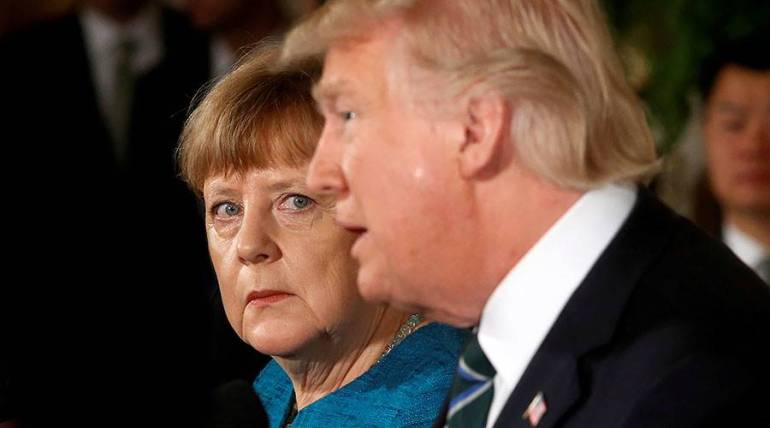 Merkel resisting Trump on Iran sanctions