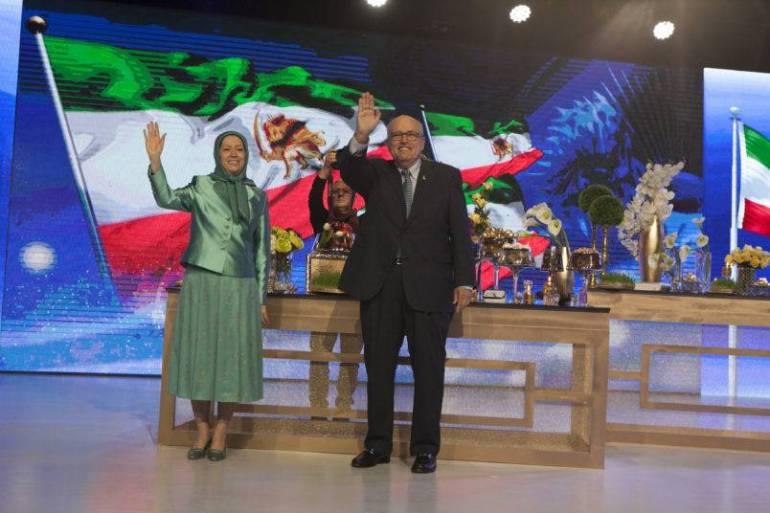 Iranian opposition celebrate Nowruz In Tirana
