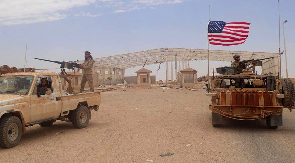 Russia Warns US of Possible Syria Attack in Area with US Troops