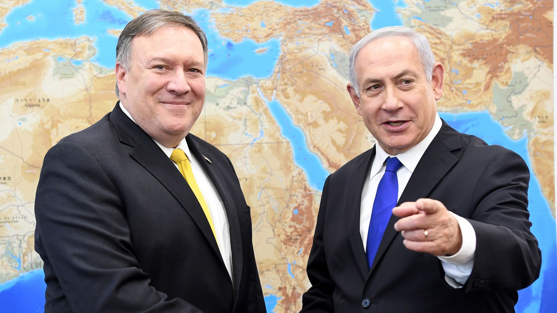 Afbeeldingsresultaat voor Mike Pompeo: The US Wants the Entire Middle East to Look Like Israel