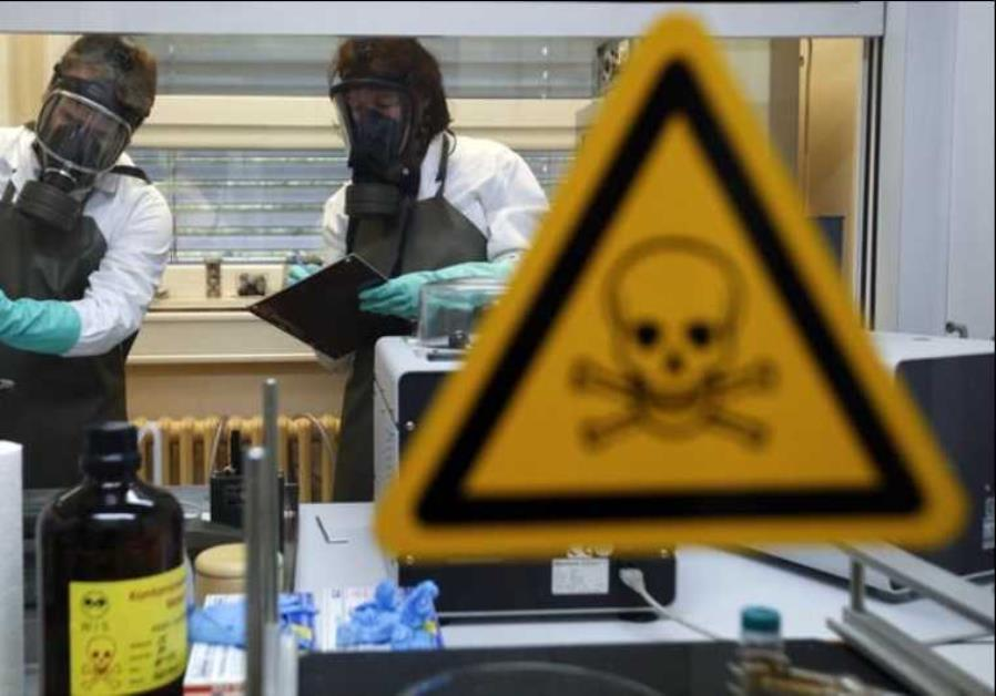 Iran 'strongly rejects' US chemical weapons accusations