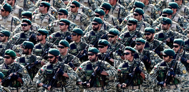 Iran Army Parade