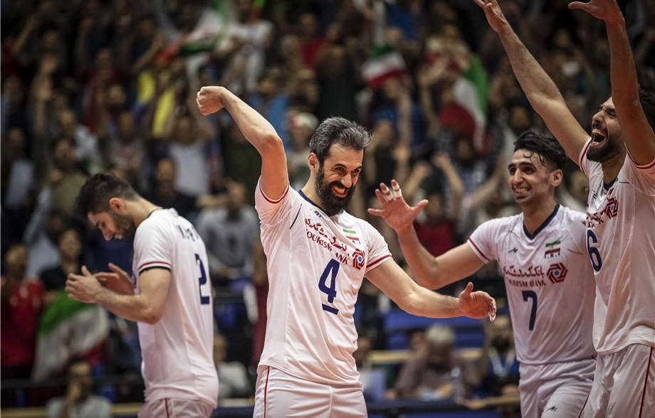 Marouf Crafts Iran's Upset Of VNL Champions Russia: FIVB Volleyball
