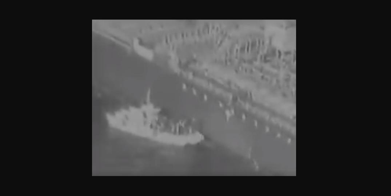 Us Releases Smoking Gun Video Of Irans Navy Handling Mine On