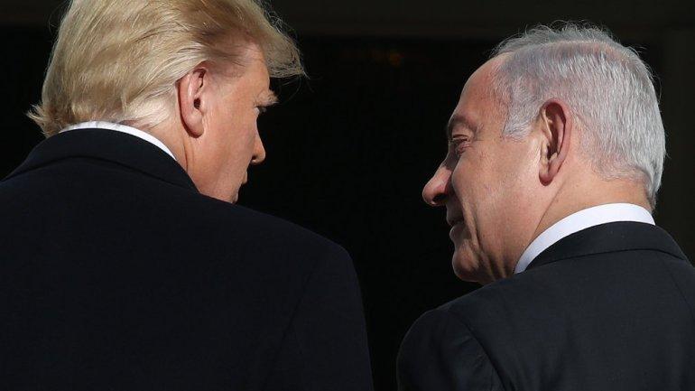 President Trump Welcomes Israeli Prime Minister Benjamin Netanyahu To White House