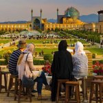 Tourists visiting Iran pre-Coronavirus