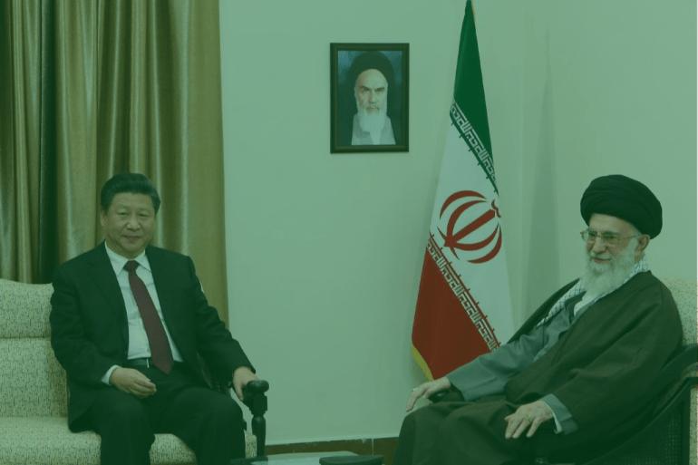 xi jinping and khamenei: Iran-China Deal Must be Green
