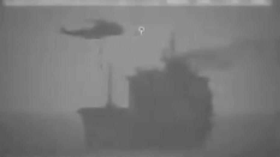 Iranian navy briefly seized oil tanker near Strait of Hormuz, US says