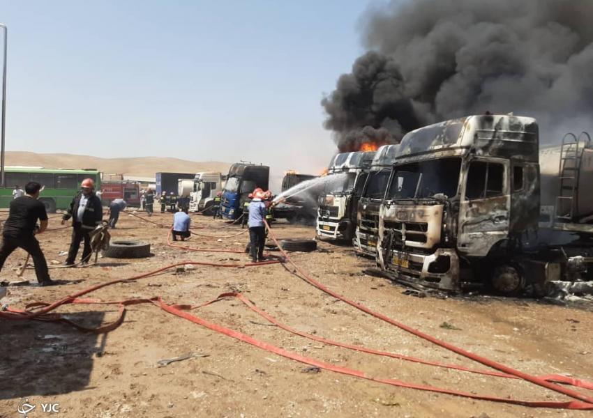 سرخط خبرها : بامداد امروز بخشی از بیمارستان شریعتی تهران دچار آتشسوزی شد.