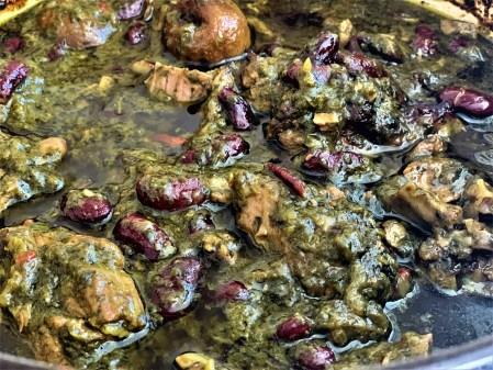 Stoofvlees met kruiden (Khoresht Sabzi)