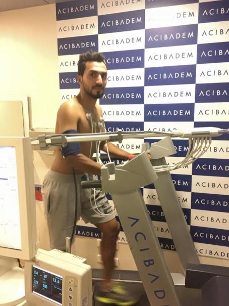 Ali Passing His Rizespor Medical Successfully