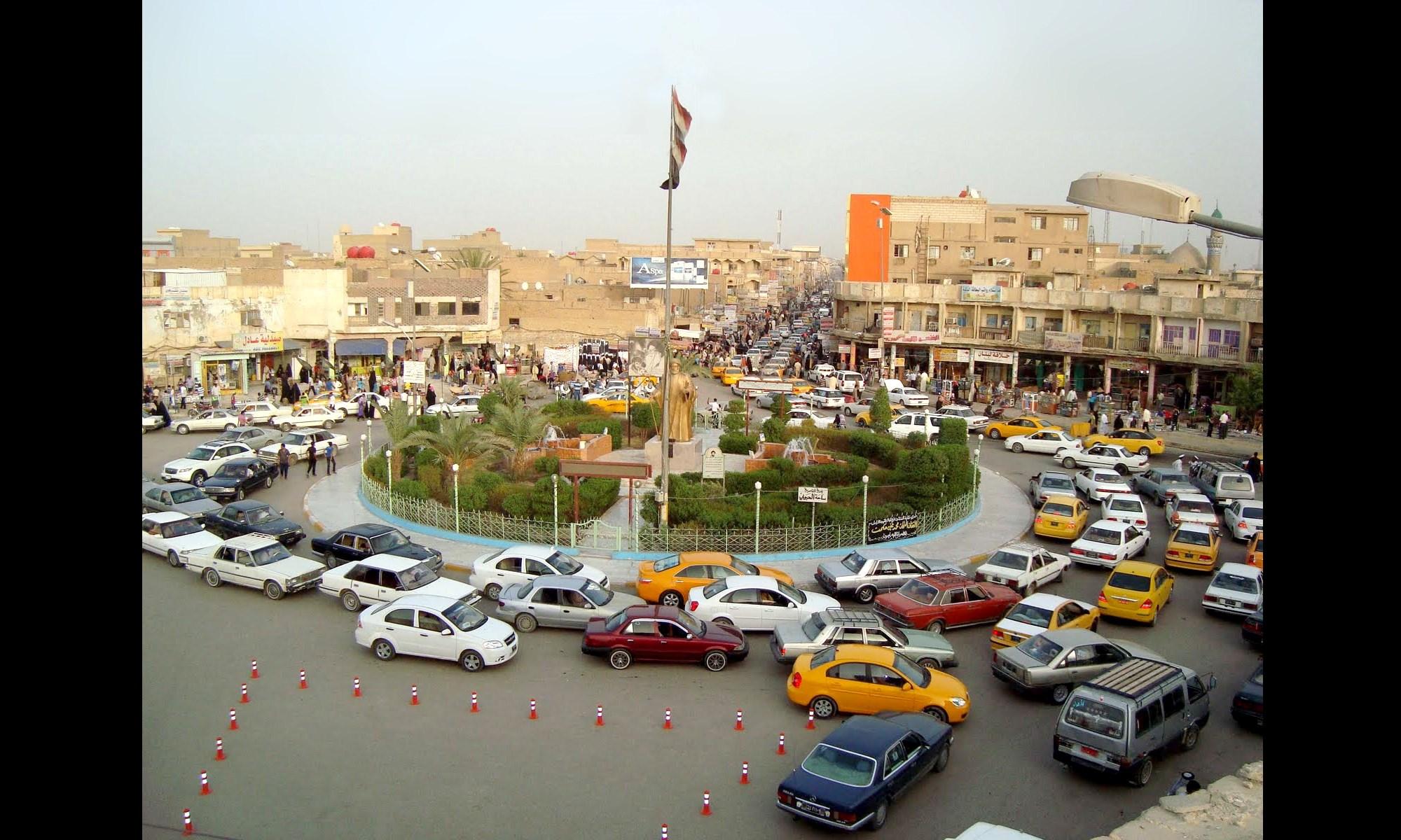 مدينة الناصرية - بقلم ليلى طارق الناصري