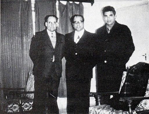 في قسم التاريخ بجامعة الموصل مع كلّ من الدكتور هاشم يحيى الملاّح والدكتور رايكل بوركر أستاذ الآشوريات في جامعة كوتنكن بألمانيا، سنة 1976م