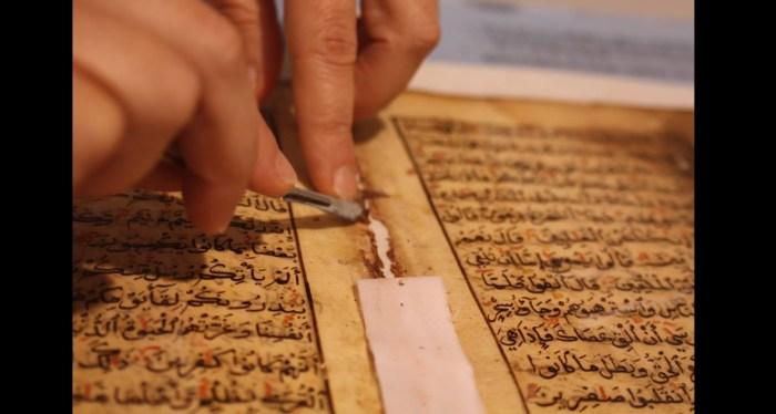 ندوة  في بغداد حول تحقيق المخطوطات وصيانتها