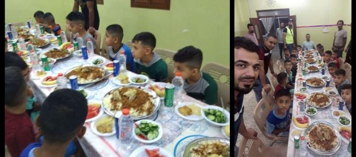حملة افطار الايتام في دار الصليخ