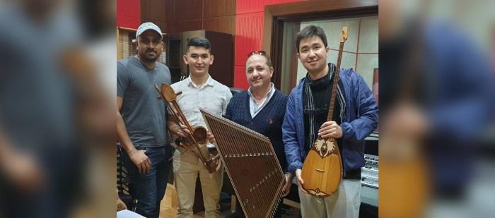 النوم محرم – ازهر كبة على السنطور مع فرقة من كازاخستان