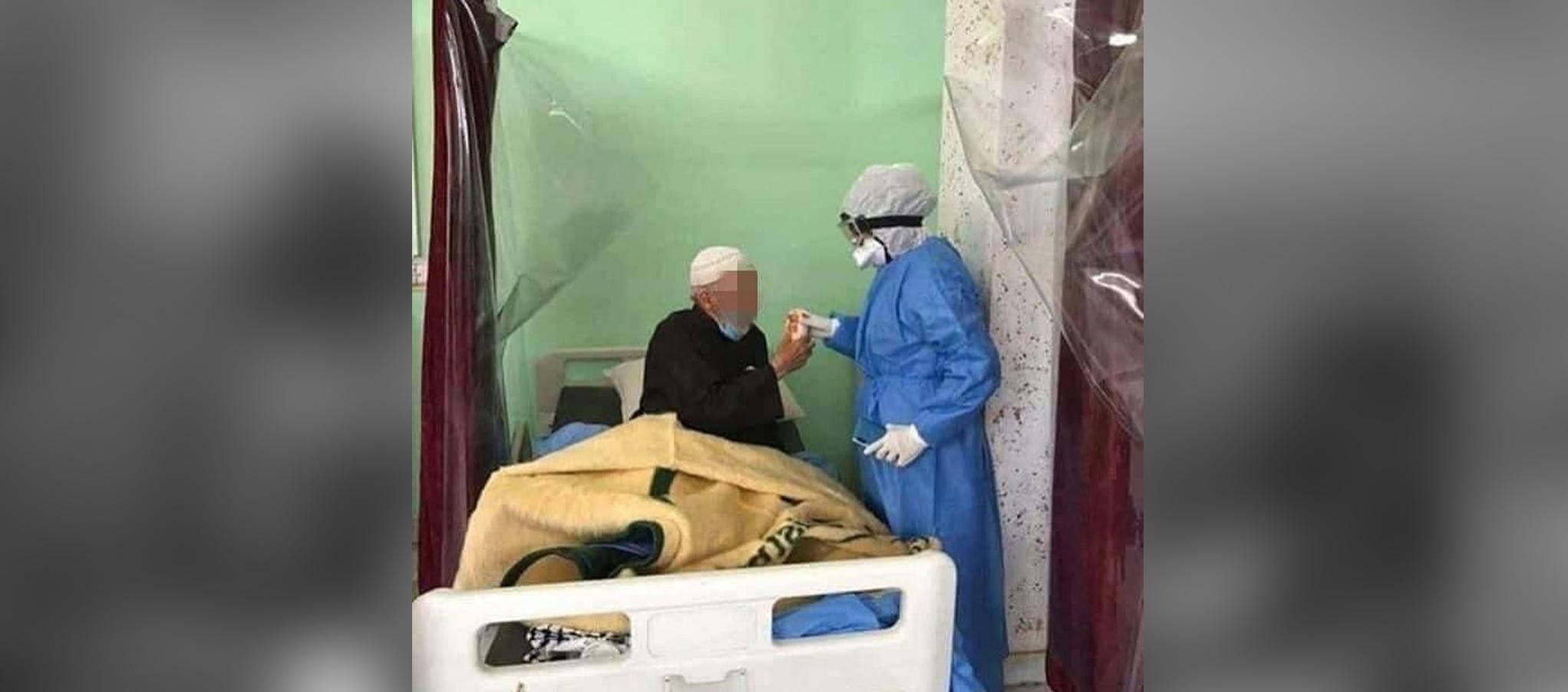 صور لاحدى الممرضات من مستشفى كربلاء