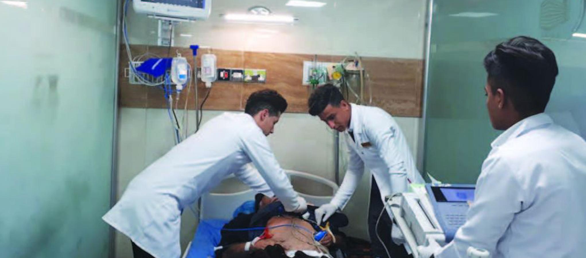 مواقف واجهتني في آخر خفارتين في طوارئ مدينة الطب