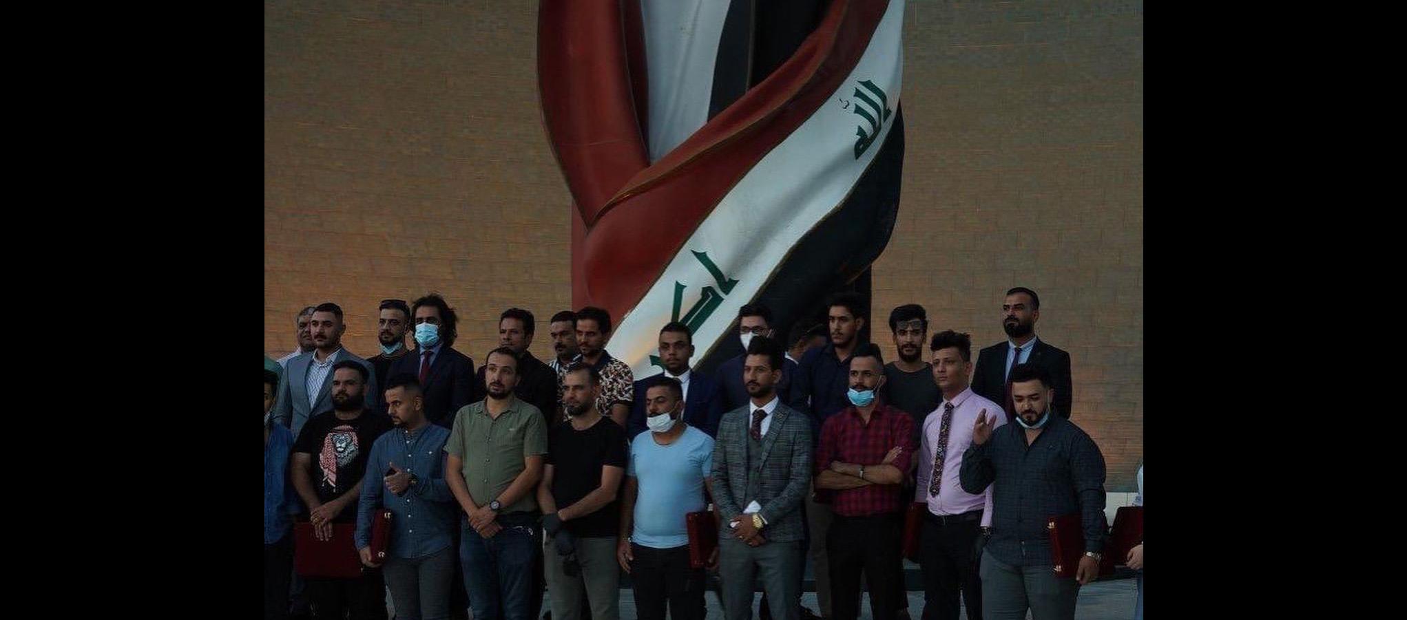 هشام الذهبي يحتفل بابطال العمل التطوعي