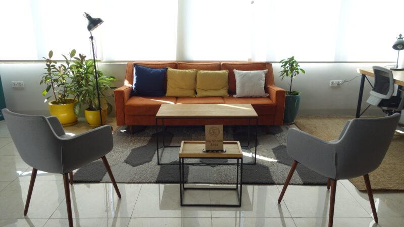Erbil Innovation House lounge area