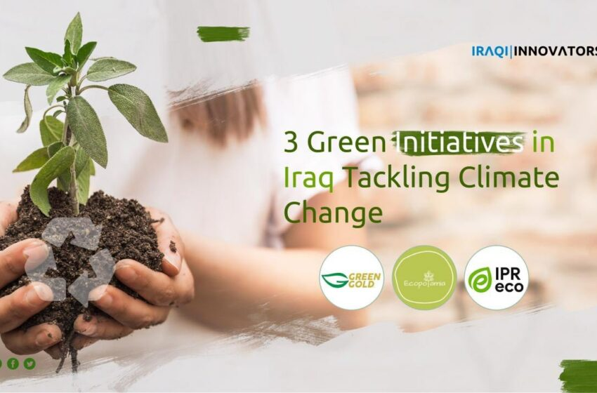 3 Green Initiatives in Iraq Tackling Climate Change