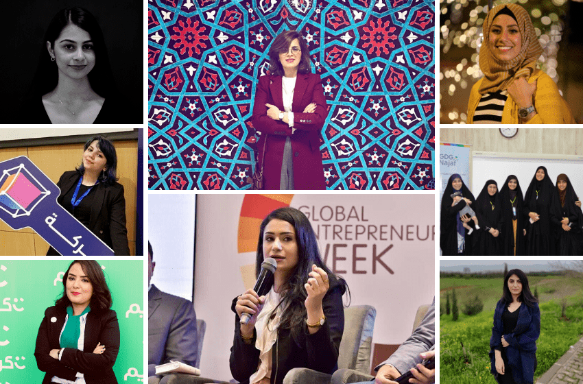 Iraqi women in tech
