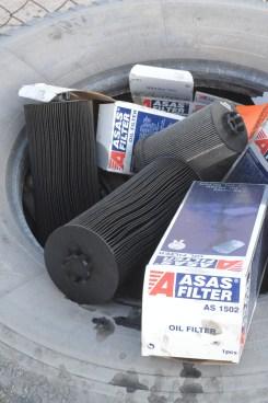 Oil waste management