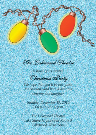 Christmas Party Invitation, CPIT-10