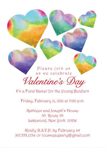 Valentine's Day Party Invitation - Lola Hearts