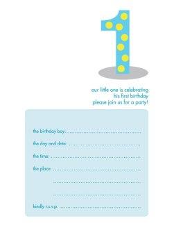 Children's Birthday Party Invitation - KBIF-03
