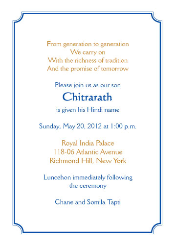 Namkaran Invitation