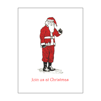 Christmas Holiday Fill-in Invitation