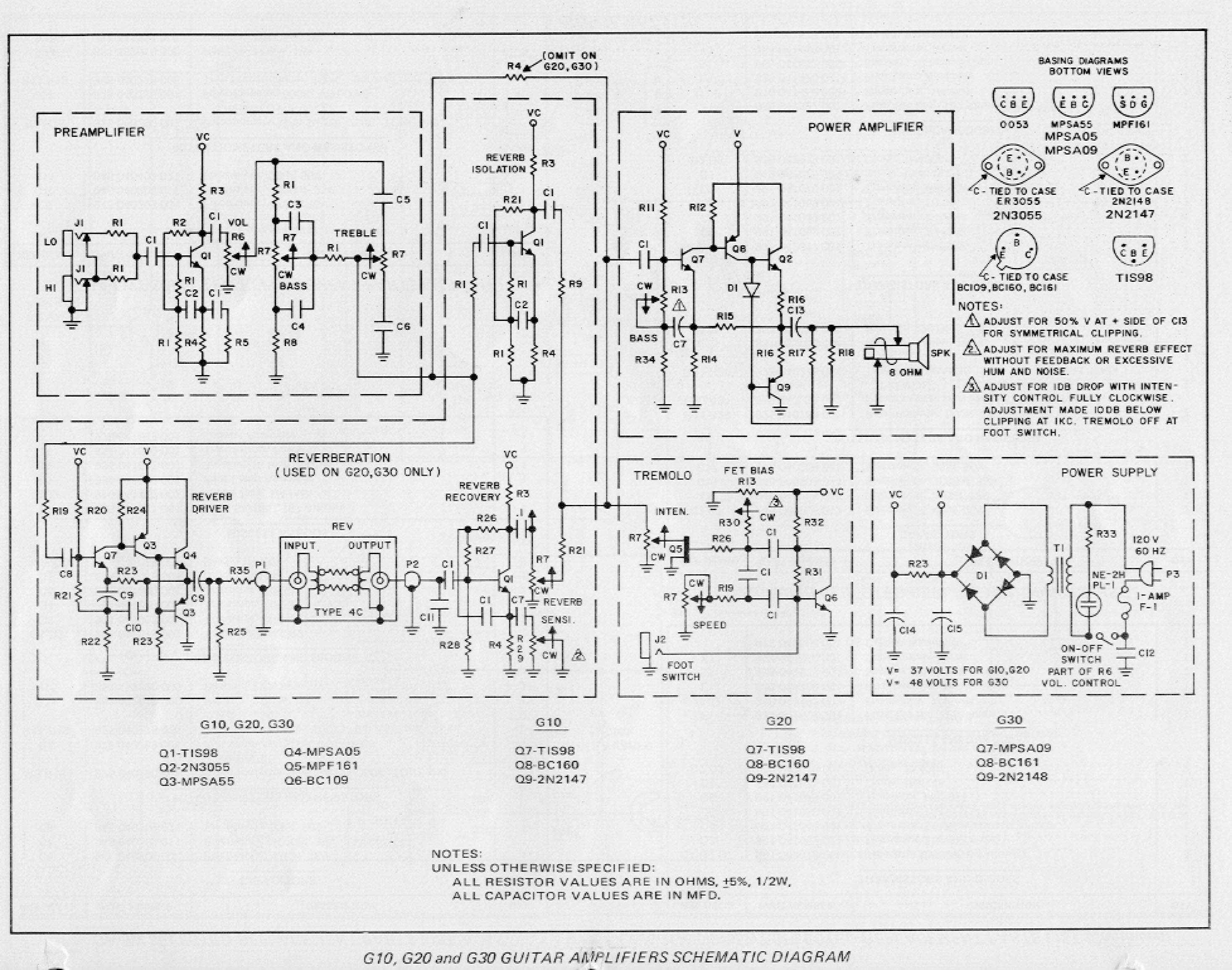 Jimmy Page Wiring Schematic