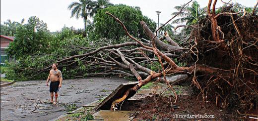 Cyclone Carlos 2011