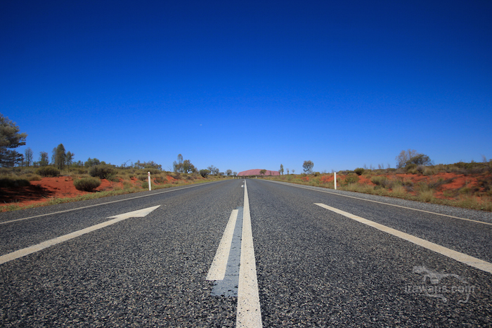 Highway to Uluru