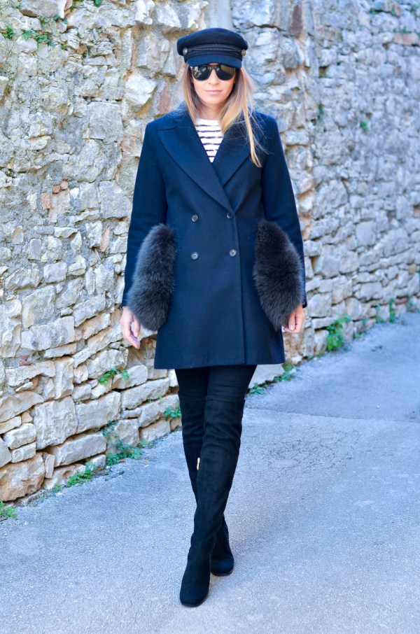 Style of the day - Black&Blue.