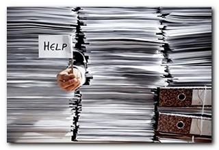 paper piles help
