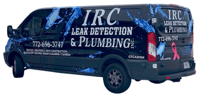 Leak Detection Plumbing Services Vero Beach Sebastian FL Van