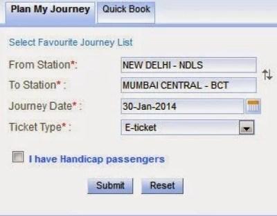 irctc login plan my journey