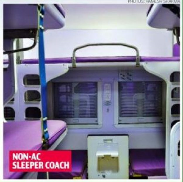 Non AC Sleeper Coach