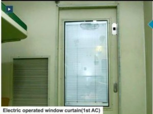 Electricity Operated Window Curtains 1st AC