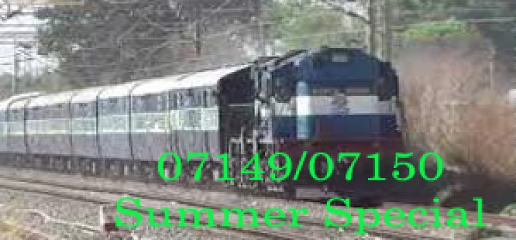 07149/07150 Secunderabad-Guwahati Summer Special